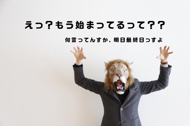 【報告】しあわせの手仕事 -1日目-